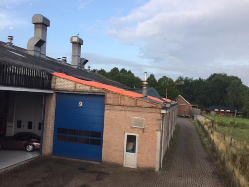 sanering asbestdak bedrijfshal Sint Anthonis